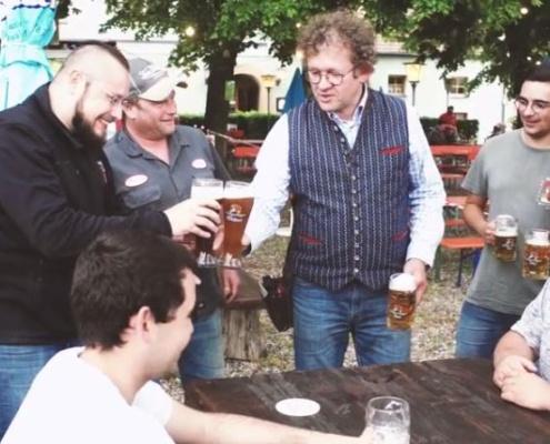 Sterk-Biergarten geöffnet